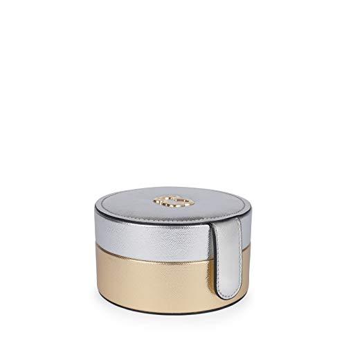 Joyero Essence en color plata-oro