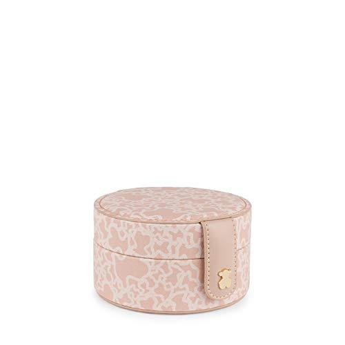 Joyero Kaos Mini de Lona en color rosa TOUS