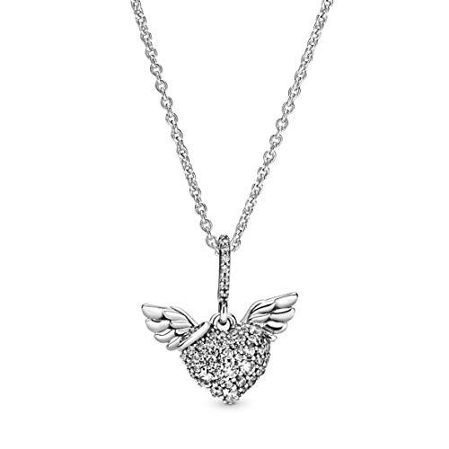 Pandora Mujer plata Collar con colgante 398505C01-45