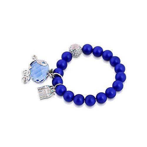 Disney Icono Cenicienta Carrosse de cristal de perlas pulsera