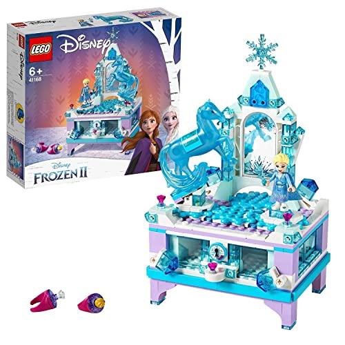 LEGO41168DisneyPrincessFrozenIIJoyeroCreativodeElsa,JuguetedoConstrucciónconMiniFigurasparaNiños+6años