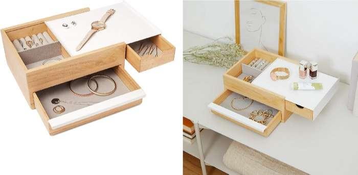 caja para joyas de madera original